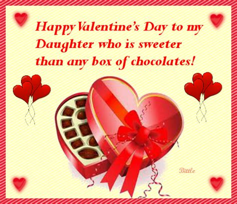 happy valentines day to my daughters happy s day to my who is sweeter than