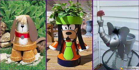 vasi di terracotta colorati decorazioni da giardino con vasi di terracotta