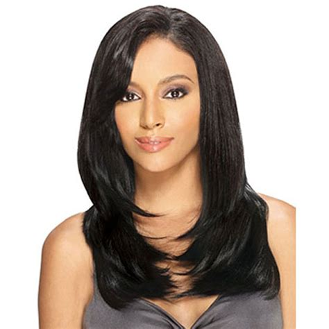 Ultra Safe 4pcs human blend hair wig sale milkyway outre remy hair