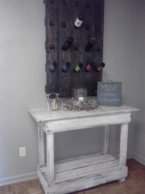Repurposed Wine Rack by Riddling Wine Rack From Repurposed Wood For The Home