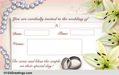 free wedding ecards invitation invitations wedding cards free invitations wedding ecards 123 greetings