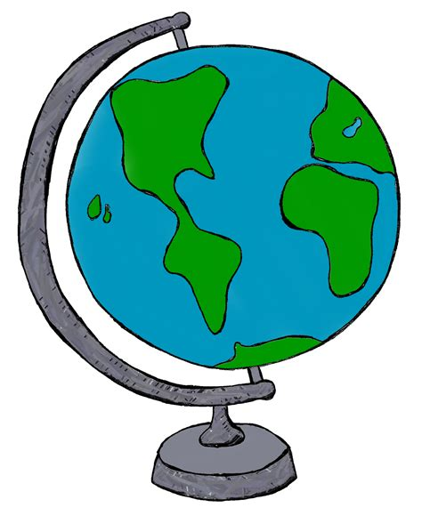 clipart globe clip by carrie teaching my world doodles clip