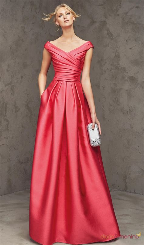 vestidor largos vestidos largos para bodas un 2016 fresa con pronovias