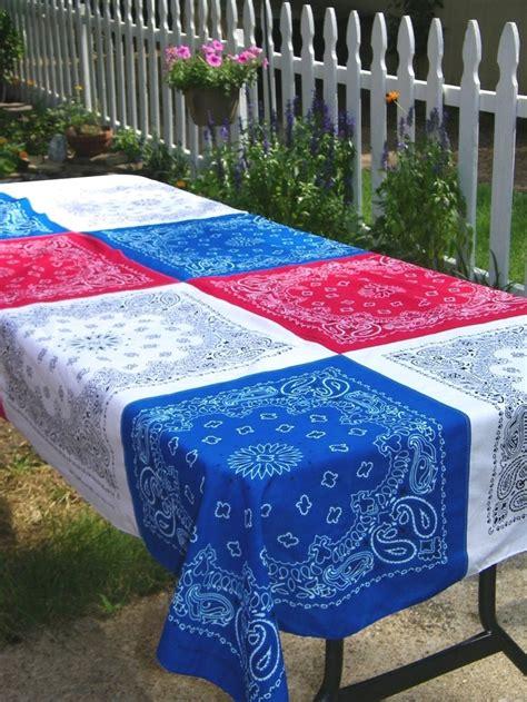 4th of july tablecloth patriotic bandana tablecloth 4th of july memorial bandana