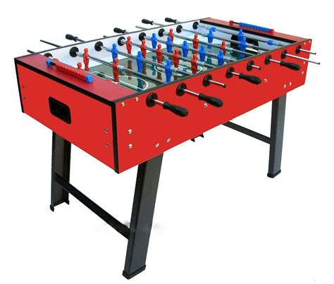 Table Soccer by Fas Smile Football Table 4ft 6 Liberty
