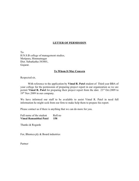 consent letter to use business name permission letter