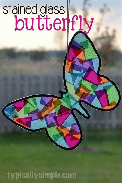 Stained Glass Paper Craft - best 25 black construction paper ideas on