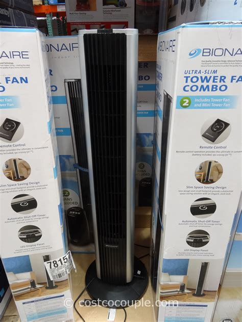 bionaire tower fan costco bionaire tower fan combo
