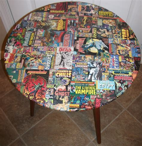 Decoupage Comics - kracalactaka creations comic decoupage horror