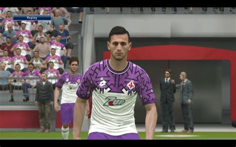 Fiorentina Home 6 fiorentina 7up 1992 1993 kit for pes 2017 by kitmaker nahno pes patch