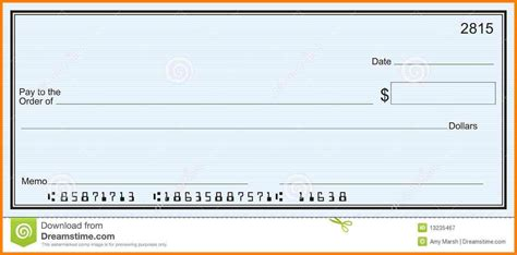 5 Editable Blank Check Template Mahakumbh Melanasik Editable Blank Check Template