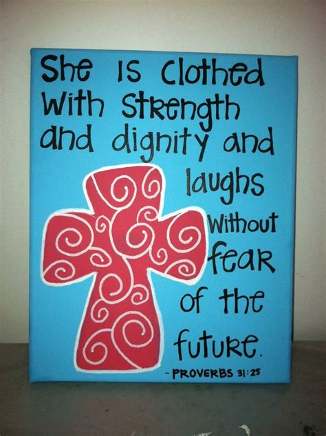 Bible Verses Ideas Blue And Coral Bible Verse Canvas With Cross Mother S