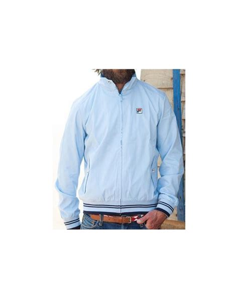 Jaket Distro Sky Blue Limited Edition fila vintage prodigy harrington jacket sky blue tracksuit
