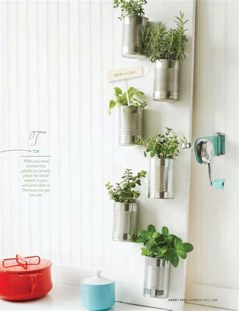 easy indoor herb garden sweet paul s indoor herb gardens are easy and functional