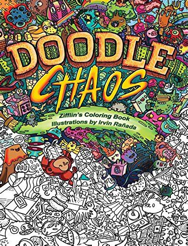 Doodle Chaos By Irvin Ra 241 Ada Colour With