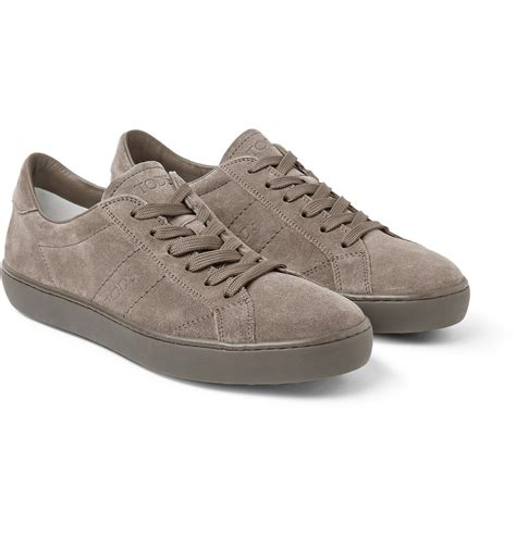 Sepatu Sneaker Suede Termurah 02 Lyst Tod S Suede Sneakers In Brown For