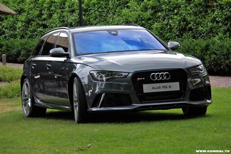 Twin Turbo V8 Audi by The New Twin Turbo V8 Audi Rs6 Avant Photos Video