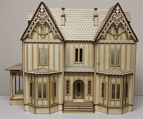 doll house shingles kristiana tudor dollhouse 1 24 scale dollhouse with shingles