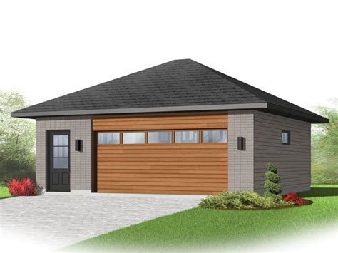 double garage plans 2 car garage plans modern two car garage plan 028g