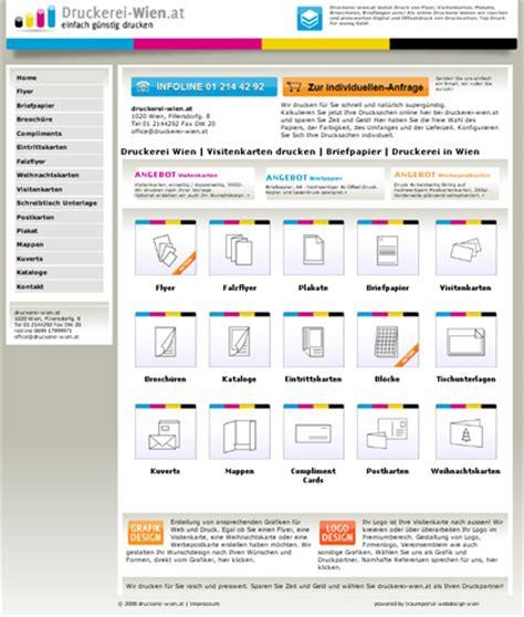 Visitenkarten Drucken Wien by Vistenkarten Druck Flyer Druck Druckerei Wien At