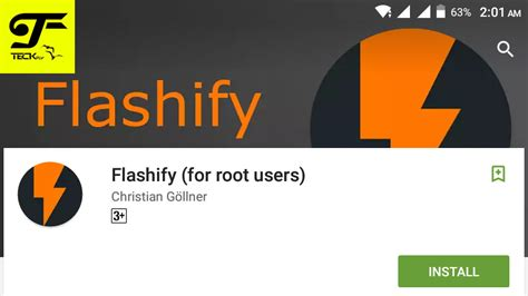 boot recovery apk flashify apk flash custom recovery and boot img using flashify apk teckfly
