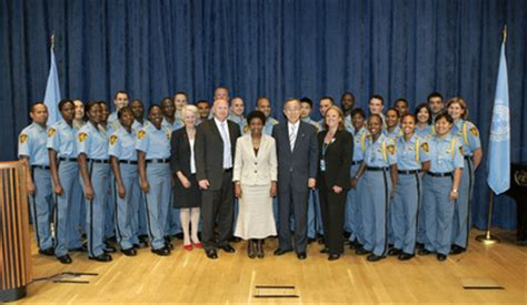 united nations photo un inducts new security officers