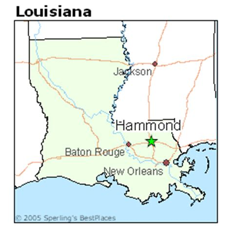 louisiana map hammond best places to live in hammond louisiana