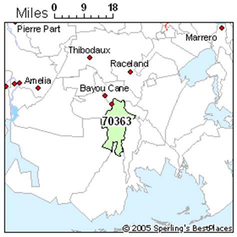 zip code map houma la best place to live in houma zip 70363 louisiana