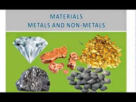 Metals And Nonmetals On The Periodic Table Metals And Non Metals And The Economic Importance Of Some
