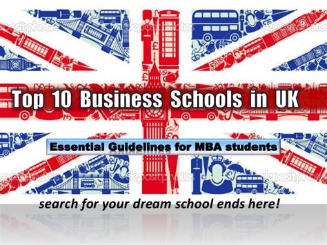 Best Uk Mba Programs by Best Business Schools In The Uk