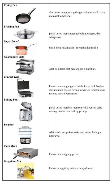 Makanan Di Spatula Kitchen jenis peralatan fungsi peralatan pengolahan makanan