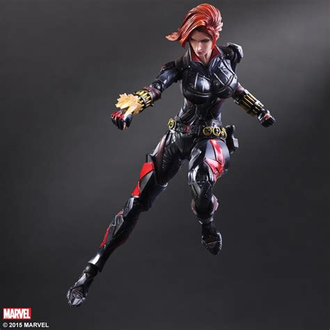 Play Arts Marvel Universe Ori Square Enix New Misb marvel universe variant play arts designed by hitoshi kondo black widow square enix