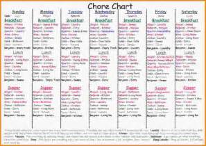 Chore Chart For Adults Templates chore chart for adults chore chart jpg letter template word