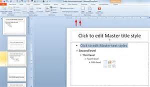 how to modify powerpoint template change bullet indent for all powerpoint slides