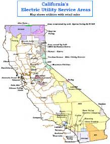 solar power home research california electric utilities map