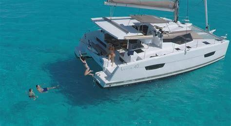 catamaran yacht charter caribbean lucia 40 2017 yacht charter caribbean 15723