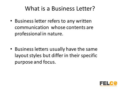 What Is A Business Letter And What Are Its Types Explain Each lesson 2 business letters parts and formats ppt