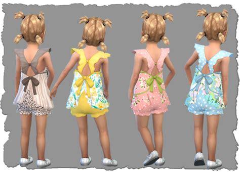 Sims 4 cc nixie toddler dress pixel shrine