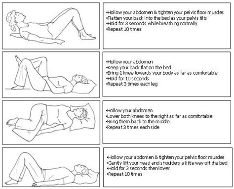 exercises post c section cardiff vale university health board cvuhb caesarean