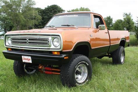 1980 dodge power wagon truck 4x4 rotisserie restored