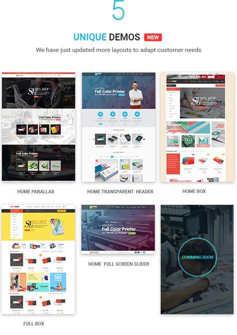 Printshop Wordpress Responsive Printing Theme By Print Shop Web Template