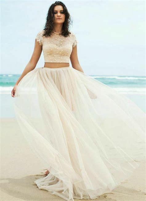 wedding dresses 2 piece overlay wedding dresses