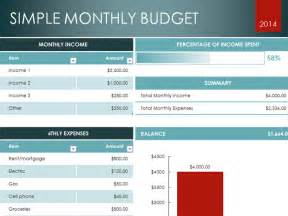 Simple Excel Budget Template Simple Excel Templates Simple Monthly Budget Template Jpg
