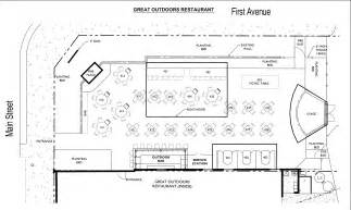 Backyard Cafe Menu Floor Plan