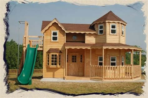 How To Play Home Design On by Build Your Own 2 Story Playhouse