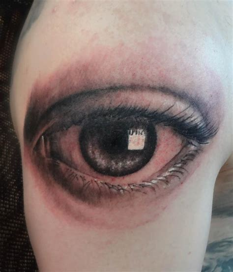 eyeball tattoo by ian robert mckown tattoonow