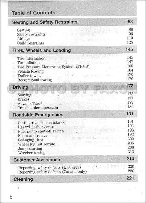 car engine repair manual 2010 ford focus user handbook 2010 ford focus owner s manual original