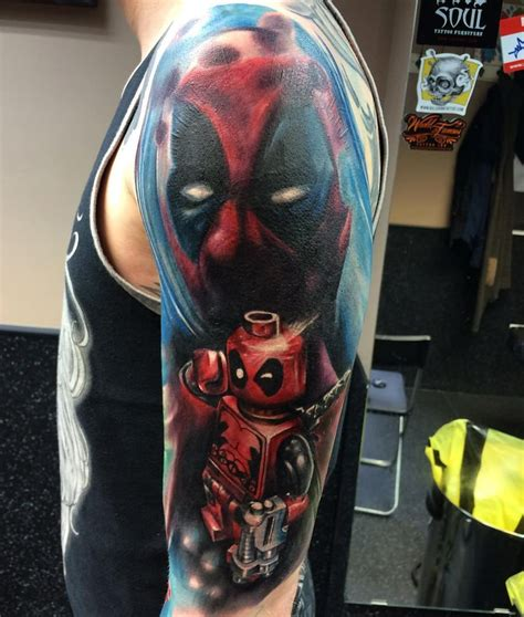 superhero tattoo tattoos for ideas and inspiration for guys