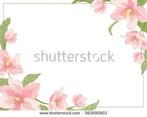 flowers card template border of paper imaginarybo s portfolio on