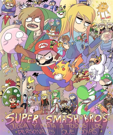 smash bros fan 25 awesome pieces of smash bros fan that will